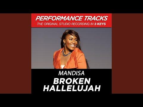 Broken Hallelujah (Medium Key Performance Track)