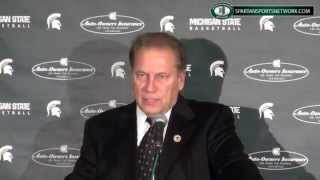 Tom Izzo Press Conference: Masters College, Russell Byrd, Branden Dawson and more