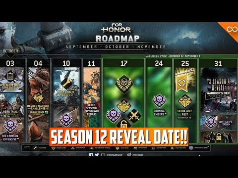 For Honor Halloween Event 2020 Youtube For Honor Season 12 Reveal Date!   Halloween Event   October