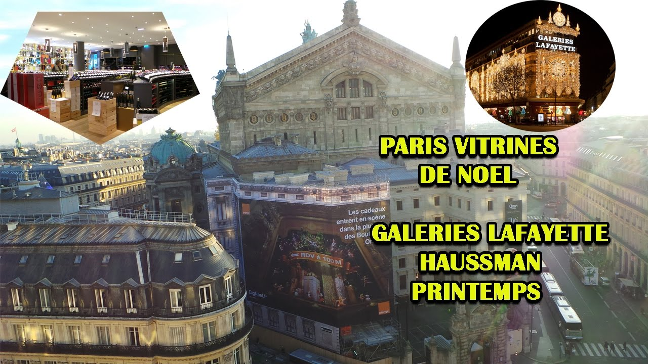 Paris Christmas Showcases Galeries Lafayette Haussmann, Printemps ... 0e36d62eaf4e