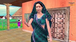 बेटे ने पिता को सबक सिखाया Moral Story - Hindi Panchatantra Stories for Kids - Cartoon Stories