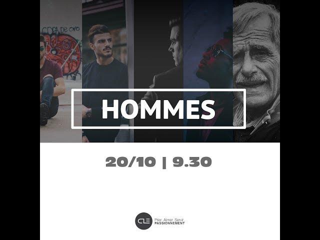 Les Hommes - Promo lancement