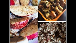 3 healthy snacks | easy and quick snack | Sriranjani Thumbnail