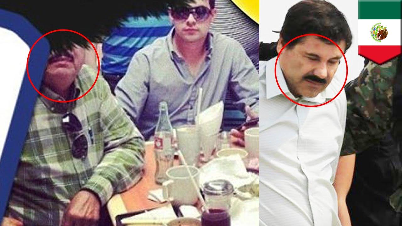 el chapo  fugitive drug lord of sinaloa cartel  seen at