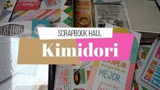 Compras Scrapbook Haul | Kimidori | Rebajas de Verano 2018