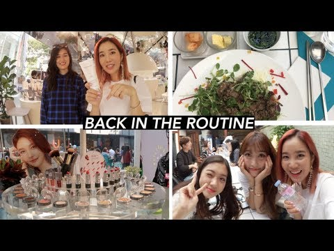 Filming in Myeongdong & Reunited with CocoTina 👯