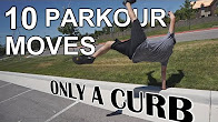 10 Parkour Moves Using Only a Curb