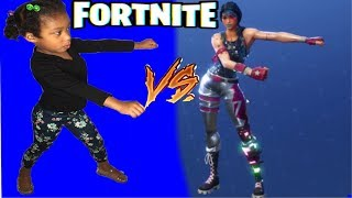 FUNNY FORTNITE DANCE CHALLENGE IN REAL LIFE