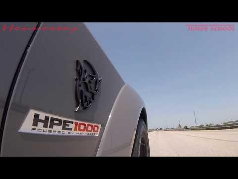 Dodge Demon Hennessey HPE1000 Driving Impression