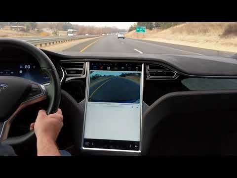 Model S Sound Level 75 MPH Smooth Highway