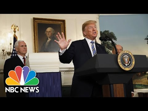 President Donald Trump Has Signed Spending Bill 'As A Matter Of National Security' | NBC News