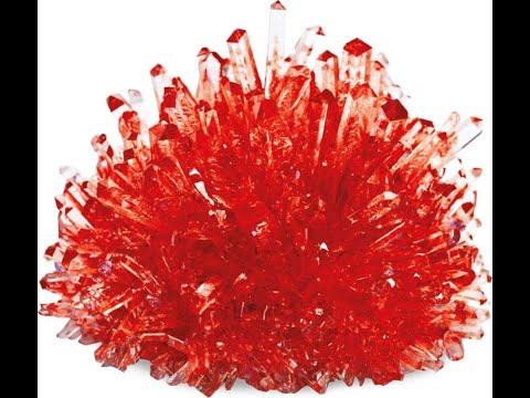 Вопрос: Как вырастить кристаллы?
