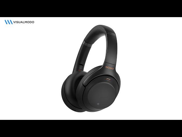 Sony XM4 Wireless Headphones Unboxing