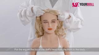 Sex Doll Head Installation & Wig Wear - YourDoll
