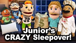 SML Movie: Bowser Junior's Crazy Sleepover!