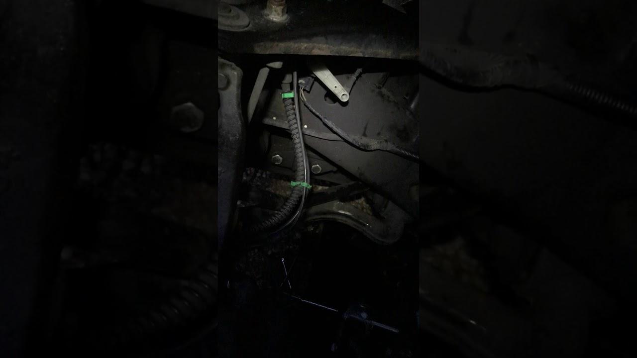 2006 Land Rover Lr3 V6 Starter Removal