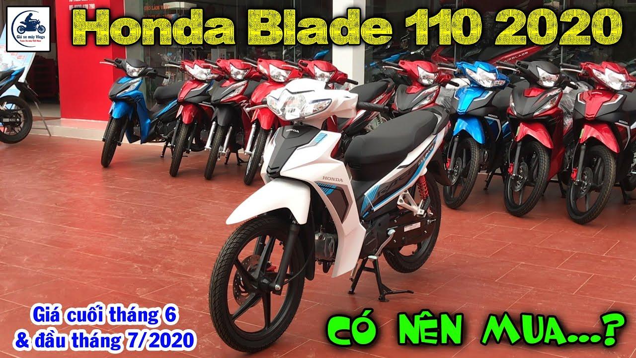 Giá Honda Blade 110 2020 cuối tháng 6 & đầu tháng 7 ▶️ Có nên mua Honda Blade 2020 🔴GIÁ XE MÁY VLOGS