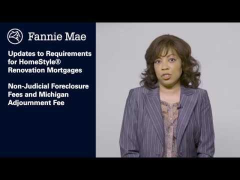 Fannie Mae March 14, 2018 Servicing Guide Update