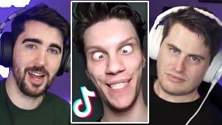 REACTING TO VANOSS TIK TOKS! - Tik Tok Cringe w/Terroriser