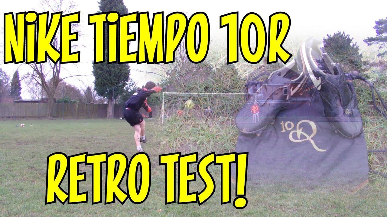 Nike Tiempo 10R '06 Retro Boot Test | Ronaldinho's Boots | DJMoore98