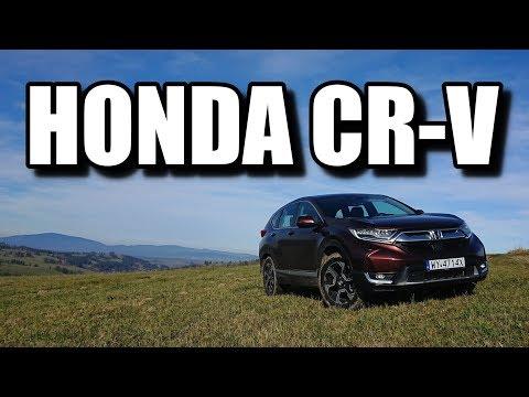 Honda CR-V 2019 (PL) - test i jazda próbna