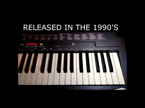 VINTAGE KEYBOARD - YAMAHA PSR-3 DEMO SONG!