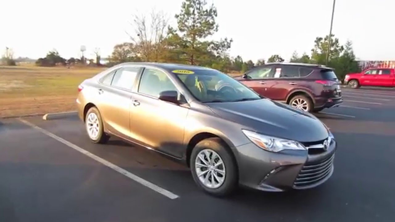 2016 toyota camry le full tour start up at massey toyota youtube. Black Bedroom Furniture Sets. Home Design Ideas
