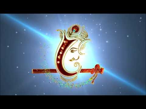 Ganesh Hd Background Video Animation Av6 For Invitation