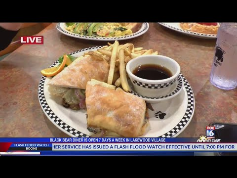 Black Bear Diner Now Open In North Little Rock