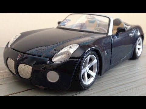 Review 1 24 Pontiac Solstice By Maisto The Model Garage