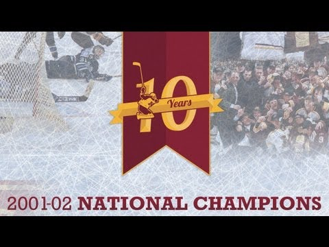 Tribute Video: 2002 Gopher Hockey National Champs