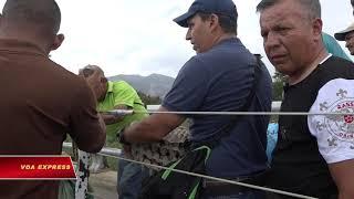 Hàng Mỹ viện trợ Venezuela dồn ứ ở Colombia (VOA)