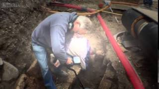 (RAW VIDEO) View The Moment A 1,000 Year Old Coffin Is Opened