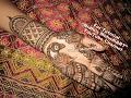 Attractive Peacock Henna Tattoo Designs Tutorial Art-Traitional Arabic Peacock Mehndi Designs
