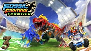 Fossil Fighters Frontier Ep:3 Fossils And Shiny Things
