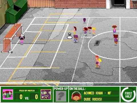 Backyard Soccer Gameplay Youtube