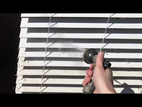 Clean Blinds in Less Than 4 Minutes