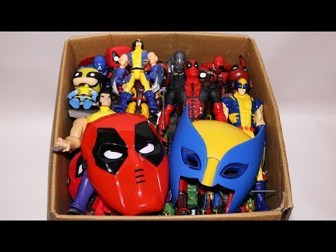 Видео, Box of Toys Marvel Mashers, Cars, Deadpool, Wolverine Action Figures and More