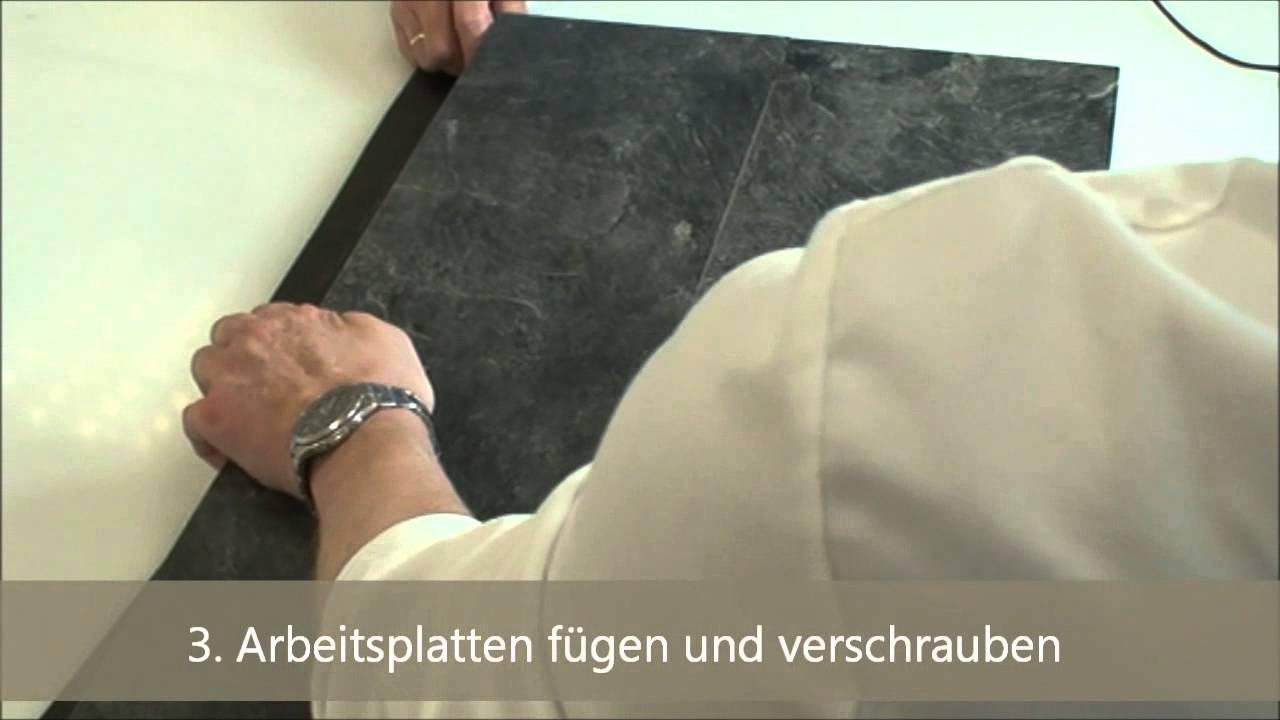 Anleitung: Abdichtung der Stoßfugen bei Küchenarbeitsplatten mit ...