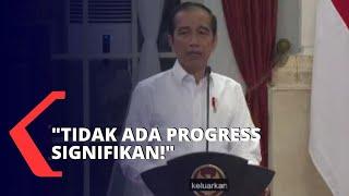 Jokowi Marah! Menteri Kesehatan Kena Sentil Soal Anggaran Belanja