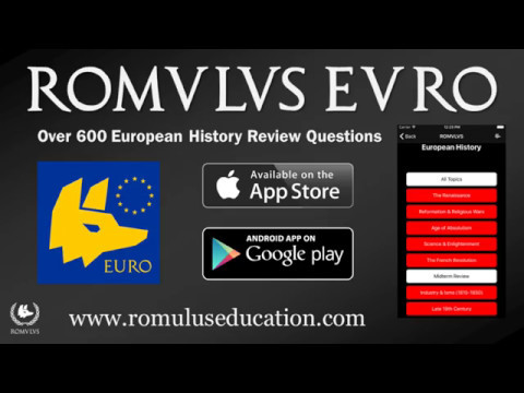 Romulus Euro - A Simple Review App for AP Euro Students