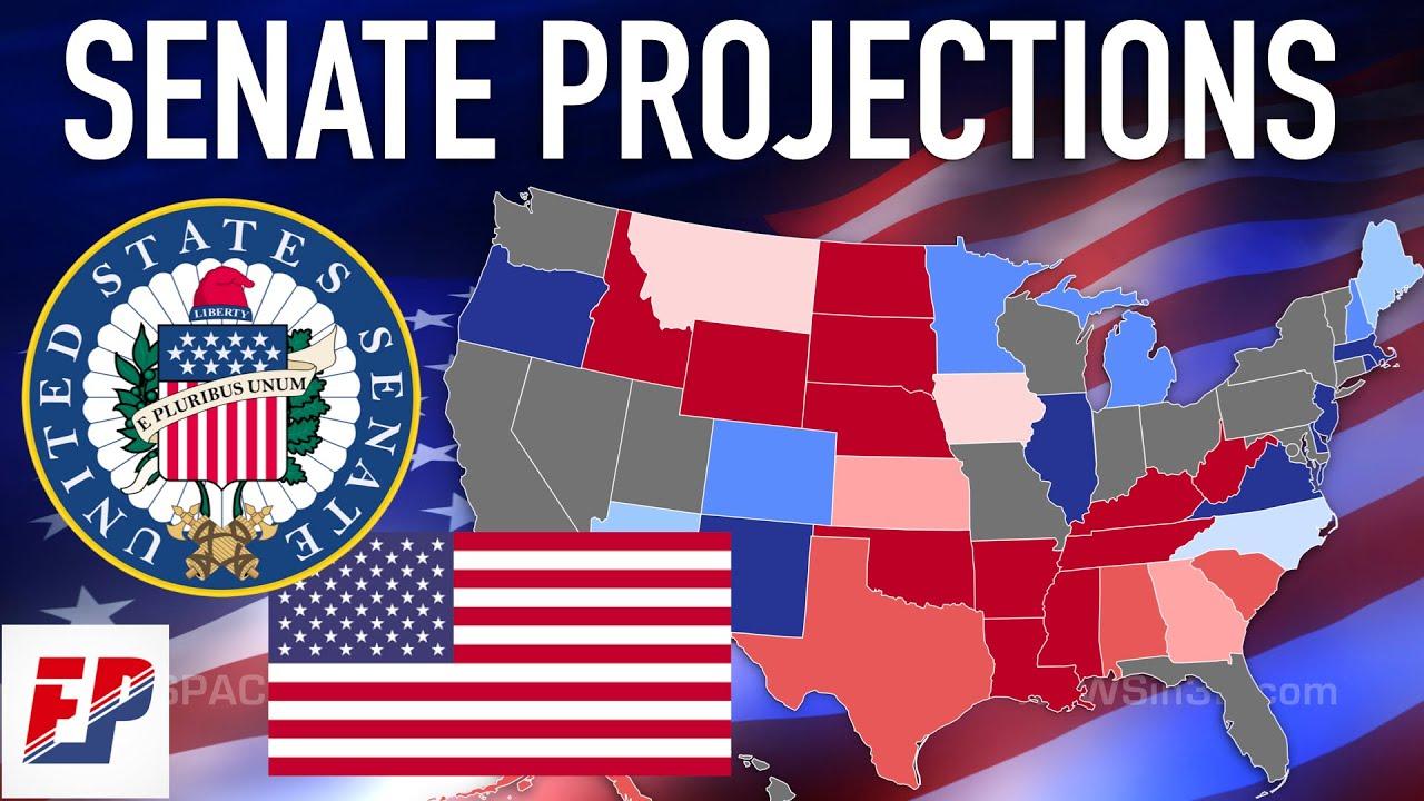 U.S. Senate Map Analysis I 2020 Projections
