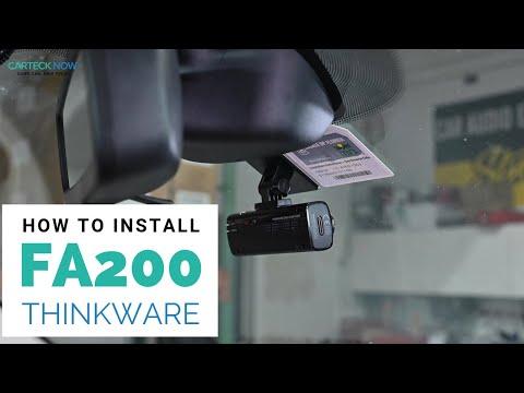 How To Install: Thinkware FA200 Premium HD Dash Camera