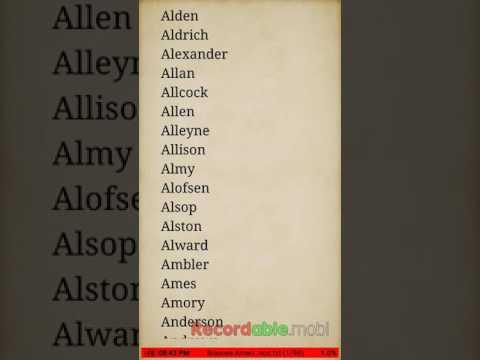 Genealogia dos Sobrenomes de Famílias Lista de nomes de famílias
