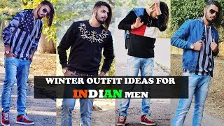 Winter Outfit Ideas For INDIAN Men | Men