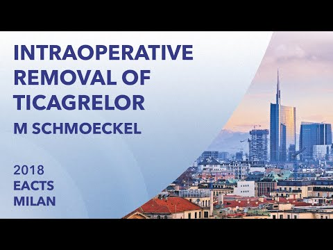 Intraoperative removal of Ticagrelor to reduce bleeding complications... | EACTS | 2018 | Milan