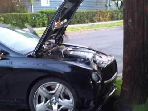 Lamont Bentley Car Crash