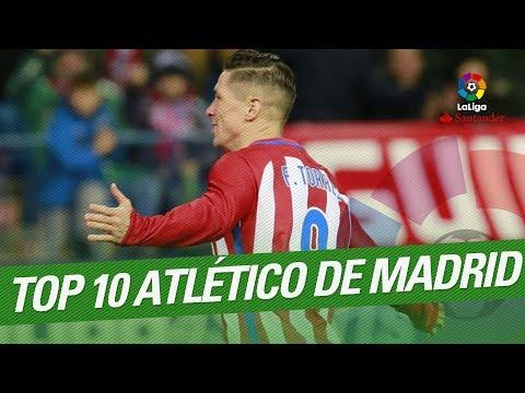 TOP 10 Goals Atletico Madrid LaLiga Santander 2016/2017
