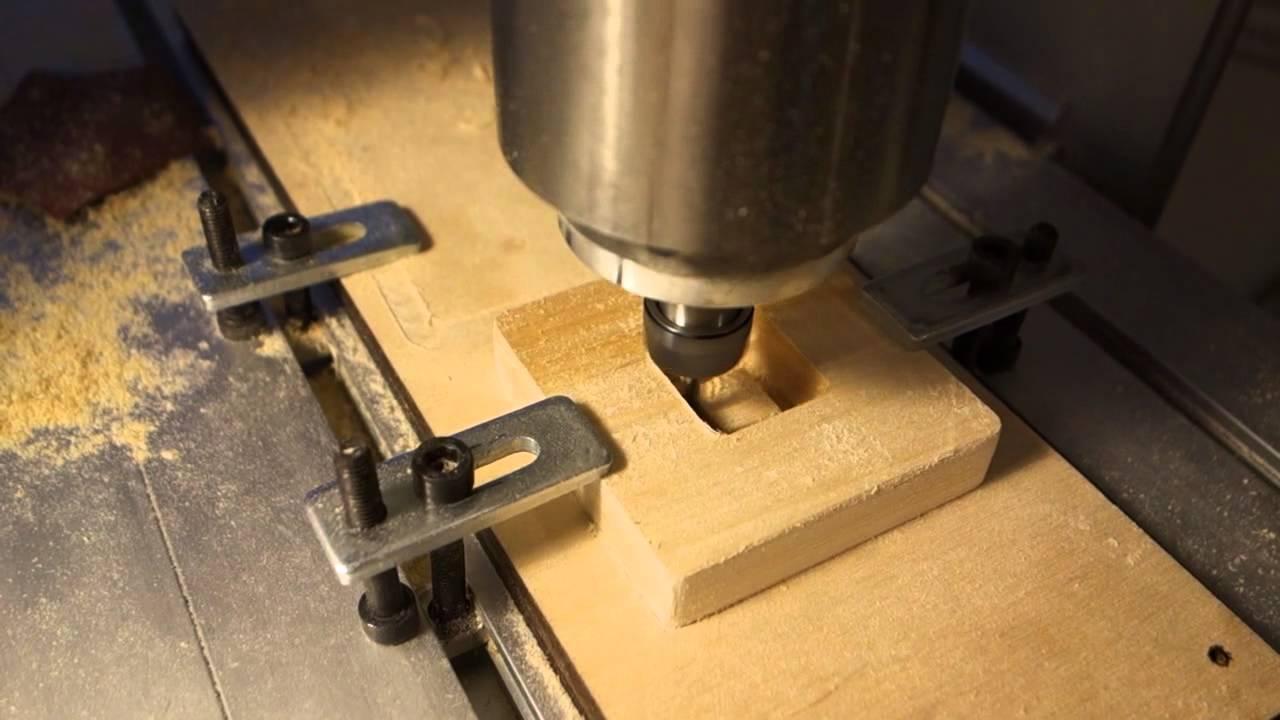 CNC Wooden Keyboard Keycap - YouTube