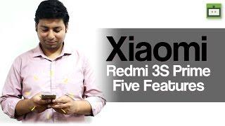 Xiaomi Redmi 3s Prime Five Features (Hindi)